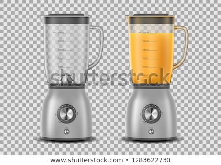 kitchen blender vector illustration stock photo © konturvid