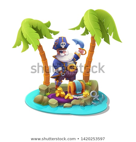 Stock photo: Vector Pirate Concept