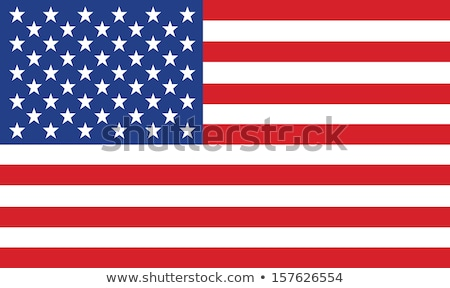 Flag of USA, United States of America Stock photo © k49red