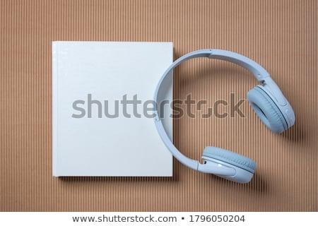 headphone and book stock photo © andreypopov