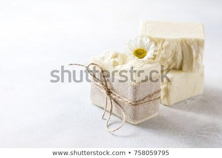Bad lichaam olie dienst schone Geel Stockfoto © pixpack