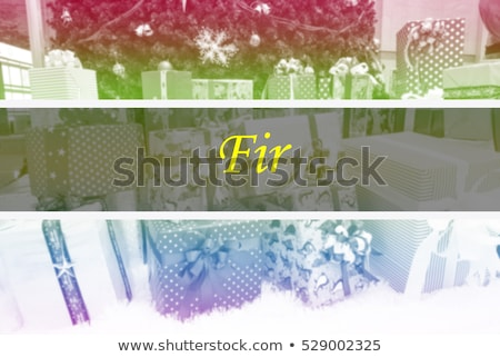 2016 merry chrstmas and happy new year background f stock photo © davidarts