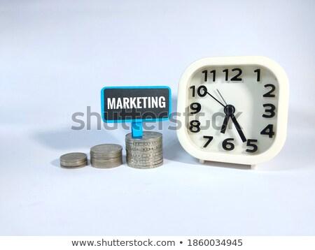 Loan word on blue board Stock photo © fuzzbones0