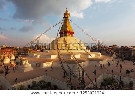 boudhanath is a buddhist stupa in kathmandu nepal stock photo © mariusz_prusaczyk