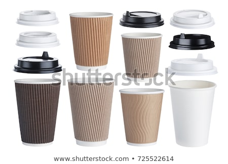 Paper Disposable Cups Stock photo © homydesign