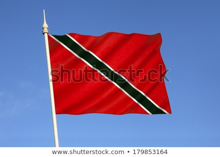 United Kingdom and Trinidad and Tobago Flags  Stock photo © Istanbul2009