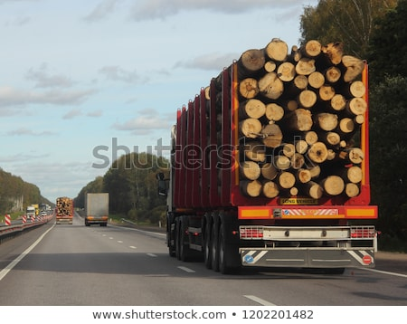 Log Transporting Stock photo © rghenry