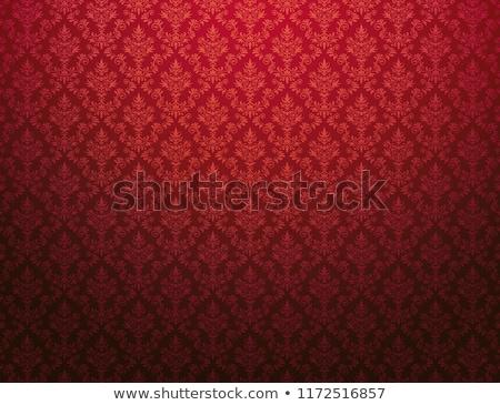 Kraliyet kırmızı Retro vektör dizayn Stok fotoğraf © ElaK