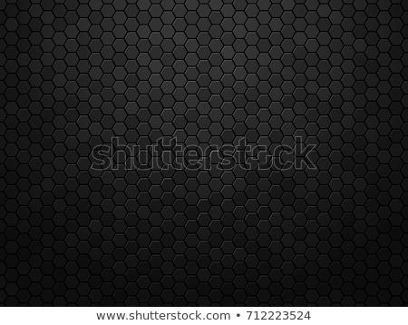 Koolstof donkere textuur metalen achtergronden ontwerp Stockfoto © ExpressVectors