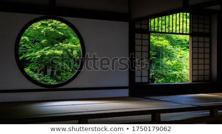 Buddhista templom erdő gyönyörű Thaiföld nyár Stock fotó © ssuaphoto