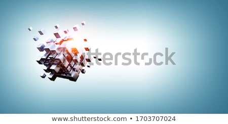 Unique cube Stock photo © magraphics