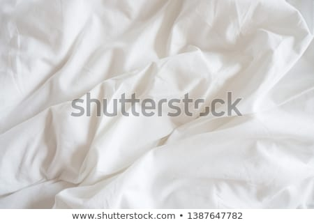 messy bedding sheet background stock photo © stevanovicigor