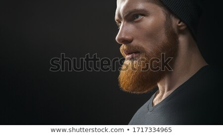 a head of a black young man stock photo © bluering