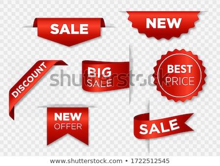 Vásár bannerek szett vektor papír origami Stock fotó © Genestro