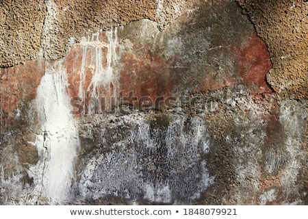 Abstract texture forms in a salt wall Stock photo © frimufilms