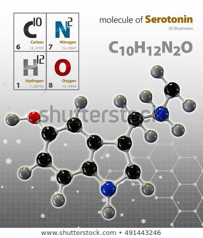 ilustração · 3d · isolado · branco · laboratório · química · químico - foto stock © tussik