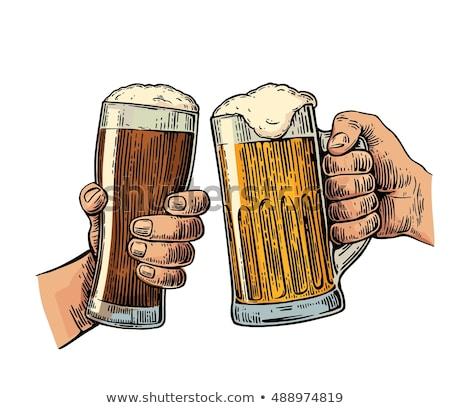 two types of beer stock photo © wdnetstudio