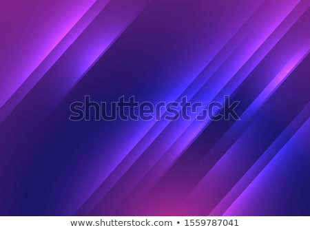 Abstract background with overlapping blue and orange cubes Stock photo © SwillSkill