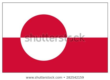 Flag of Greenland Stock photo © bestmoose