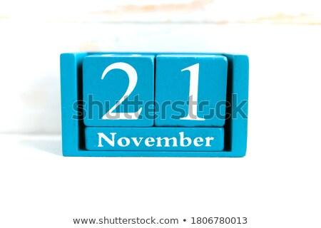 Cubes 21st November Stock photo © Oakozhan