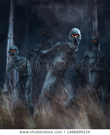 Scary undead zombie man  Stock photo © sqback