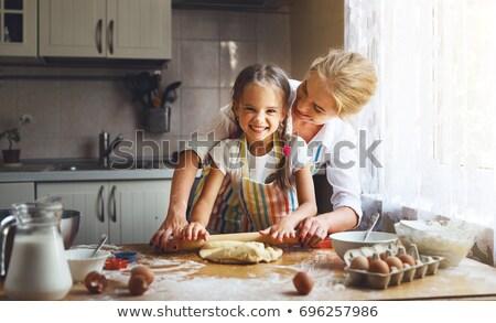 Bambini ragazza divertimento sostegno fresche Foto d'archivio © IS2