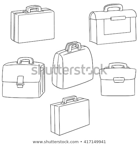 Employer with briefcase hand drawn sketch icon. Stock photo © RAStudio