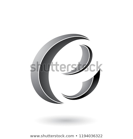 grijs · gestreept · icon · brief · vector · illustratie - stockfoto © cidepix