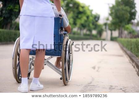 Pacjenta młodych cyklu zestaw kobiet jazda konna Zdjęcia stock © toyotoyo