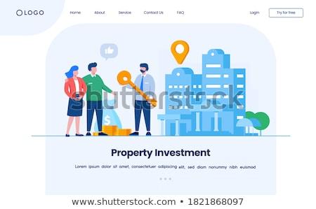 özellik · pazar · iş · yatırım · gayrimenkul - stok fotoğraf © tarikvision