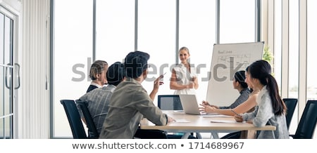 Concept Of Business Communication Challenge Stock photo © Lightsource