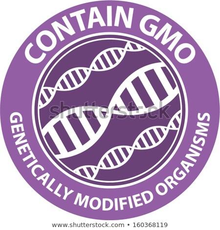 Genetically modified foods concept vector illustration. Stock photo © RAStudio