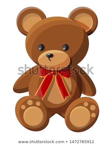 plush teddy bear cartoon character Stock photo © izakowski