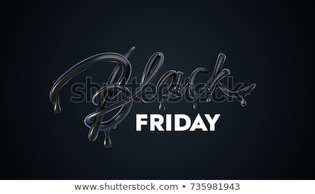 November Sale Event with Discounts, Black Friday Stock photo © robuart