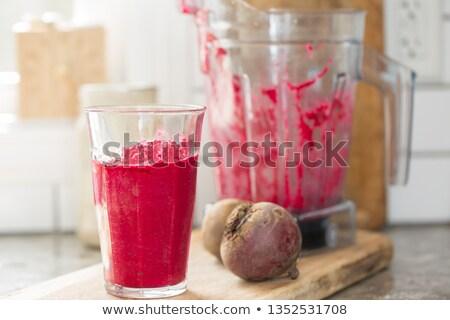 vermelho · fresco · preparação · de · alimentos · alimentação · saudável - foto stock © oleksandro