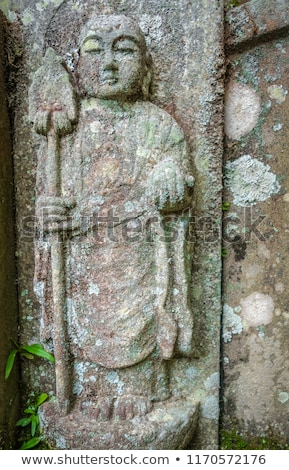 Buddha statue temple cimetière kyoto Japon Photo stock © daboost