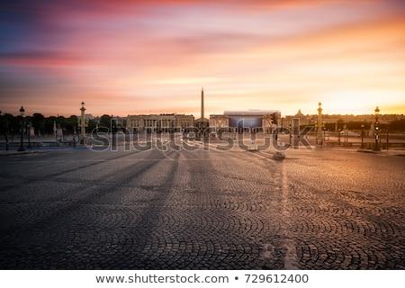 plac de la concorde paris stock photo © neirfy