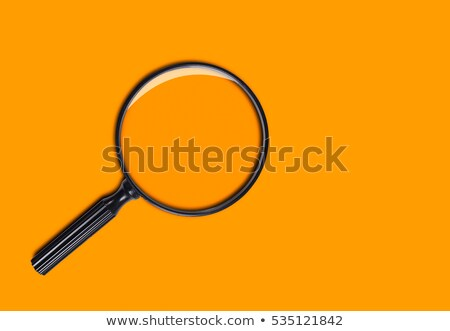 Orange magnifier Stock photo © cidepix