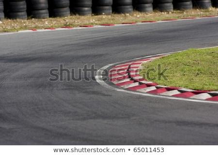 空っぽ レースカー 回路 道路 スポーツ ストックフォト © vlaru