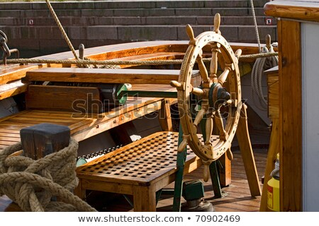 Rudder with settle Stock photo © premiere