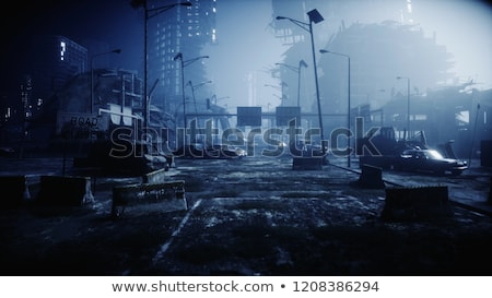 Stock photo: urban apocalypse
