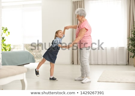 Woman and her granddaughter Stock photo © photography33