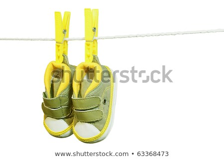 Baby Shoes with Vecro fastener Stock photo © zhekos