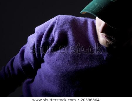 Man wearing purple jumper Stock photo © photography33