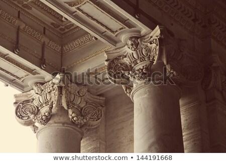 Close up of a corinthian capital. Stock photo © wjarek