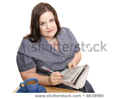 Businesswoman - Discouraging Job Hunt Stock photo © lisafx