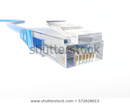 CAT5 ethernet connector Stock photo © Stocksnapper