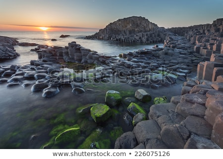 nord · Irlande · lave · roches · formation - photo stock © julietphotography