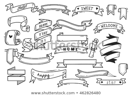 Doodle Banner stock photo © artplay