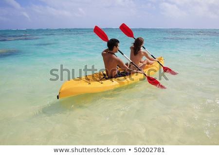 ボート · 白 · ヨット · 帆 · ラジオ · 技術 - ストックフォト © photography33